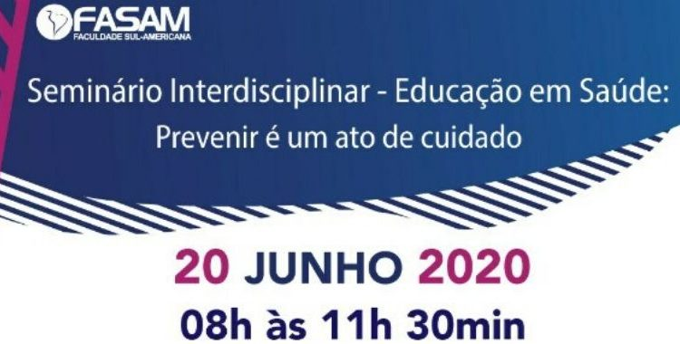 Seminário Interdisciplinar: Educação em Saúde